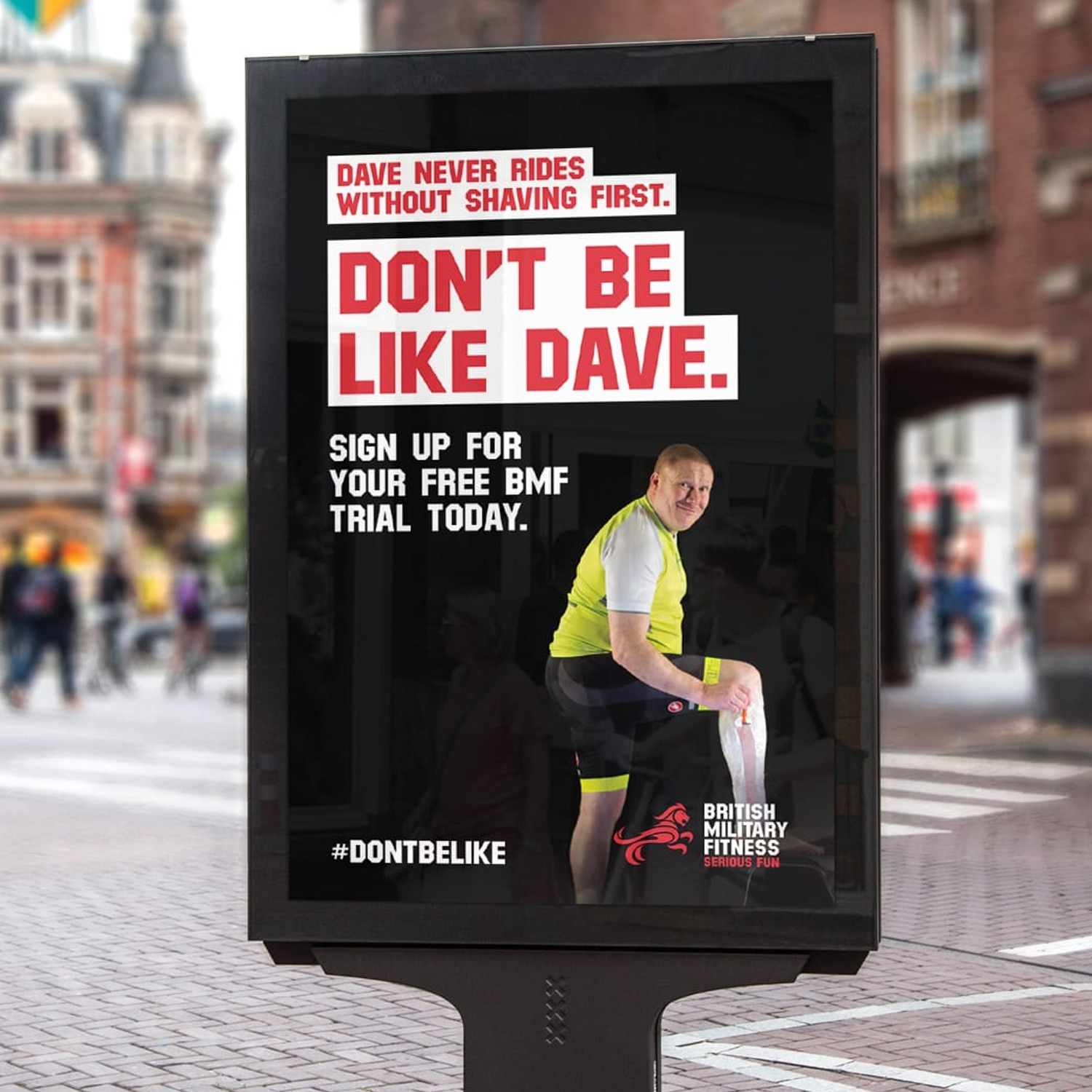 Attracting trialists by not being like Dave.
