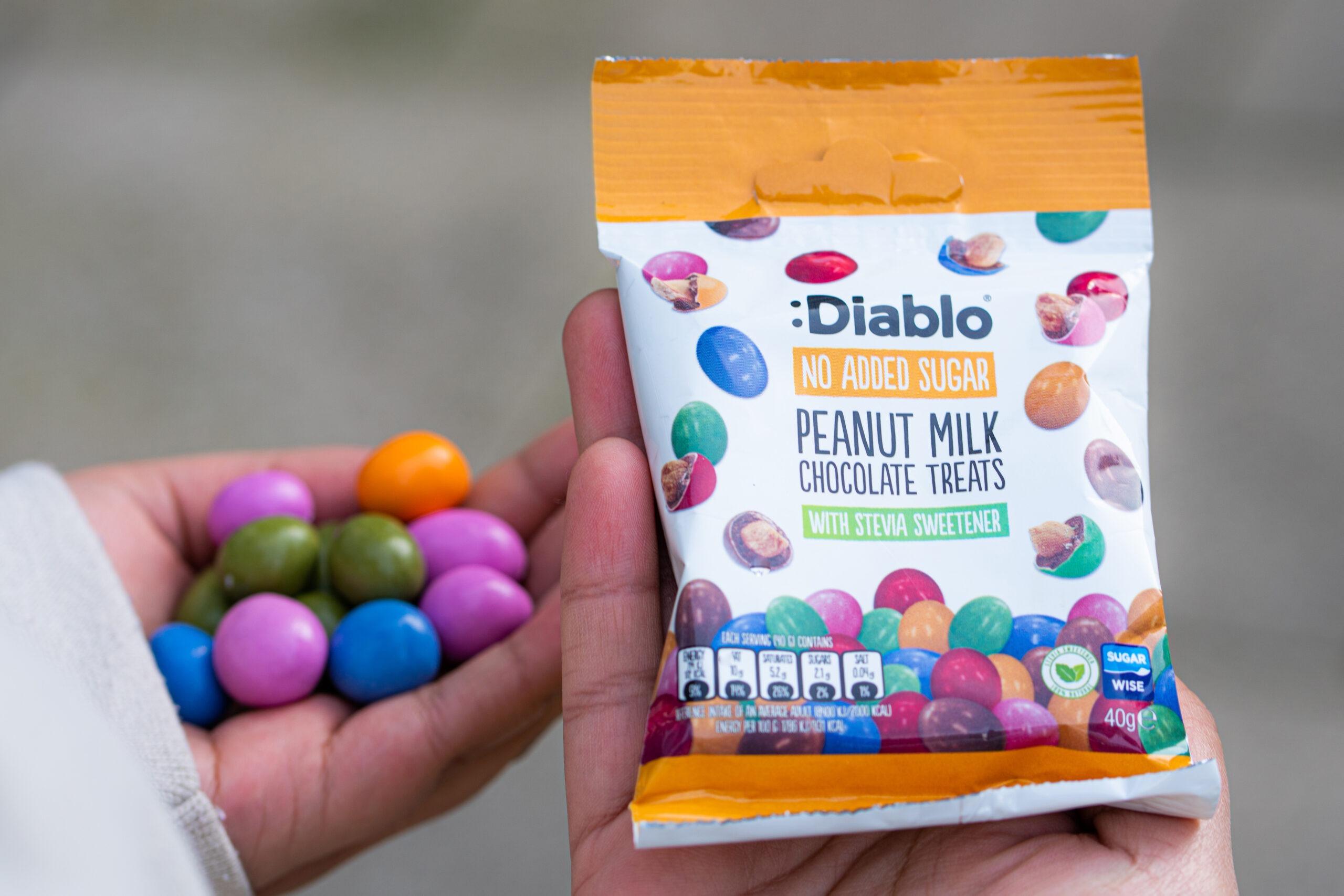 A sweet look for sugar free treats.